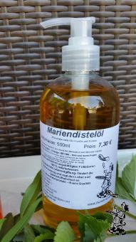 Mariendistel - Öl 500 ml