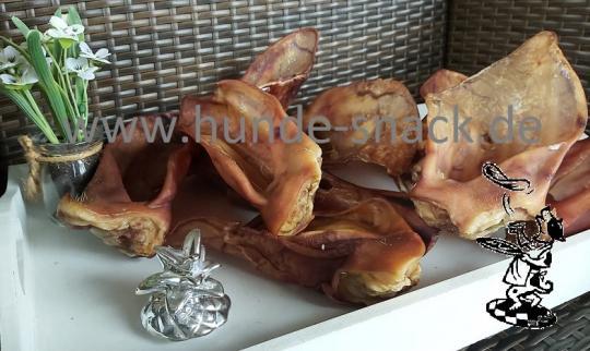 Schweine - Ohren mit Muschel ca. 100g pro Ohr 1 Stück