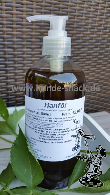 Hanf - Öl 500 ml