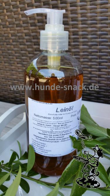 Leinöl - Öl 500 ml