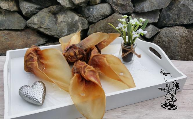 Rinder - Ohren mit Muschel Deutsche Herkunft 25 Stück